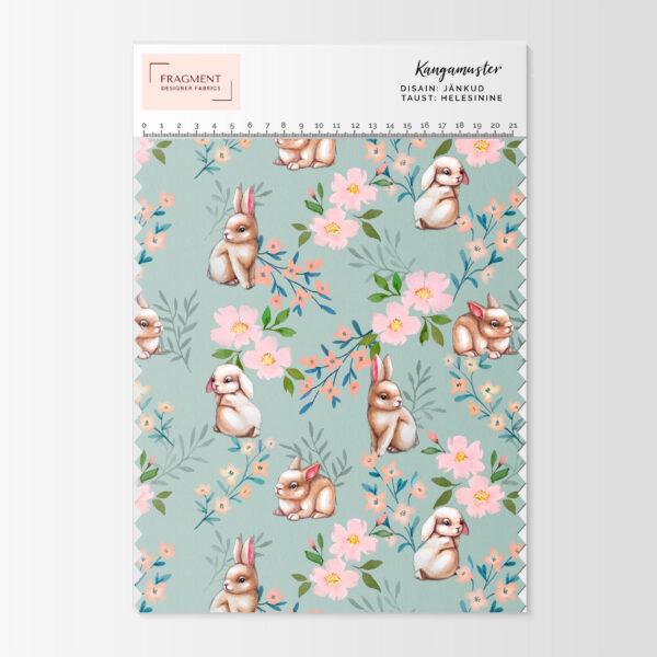ilus kevadlille aasaline dressikangas Fragment Designer Fabric loomingust