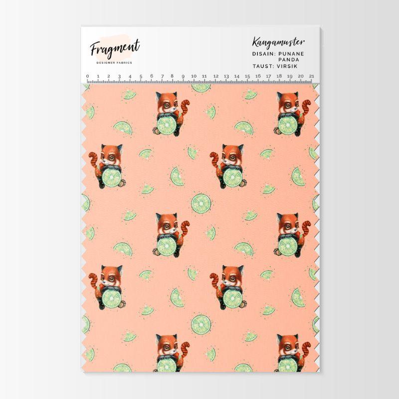 pandadega kangas Fragment designer fabrics