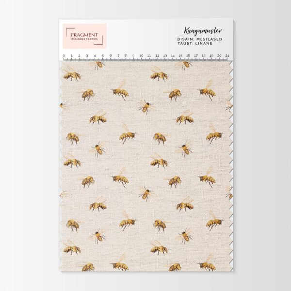 linane kangas mesilased fragment designer fabrics